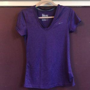 Purple Drifit Nike shirt